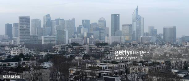 La Defense business district in Paris La Défense is is a major business district of the Paris Metropolitan Area and of the ÎledeFrance region located...