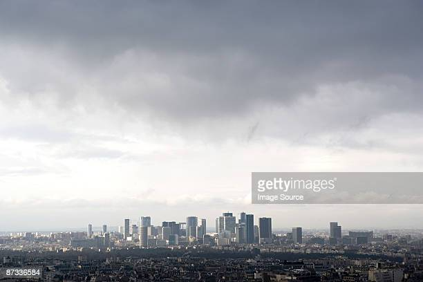 la defense paris - overcast stock pictures, royalty-free photos & images