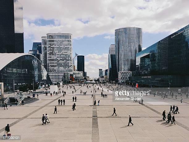 La Defense Plaza, Paris, France