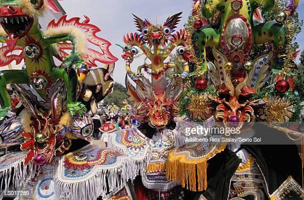 la diablada - bolivia fotografías e imágenes de stock