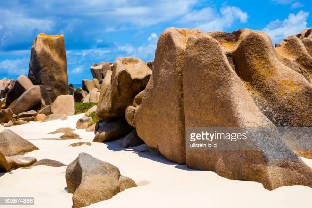 La Digue, Anse Maron, Suedumrundung, Abenteuer, abenteurerlicher Weg, Wellengang, drittgroesste Insell, Seychellen, Seychelles, SYC, Inselstaat,...