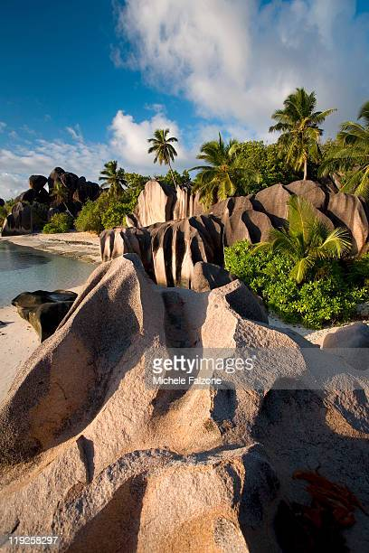 la digue island - la digue island stock pictures, royalty-free photos & images