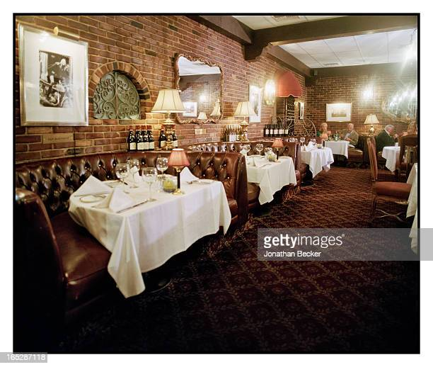 La Dolce Vita Restaurant is photographed for Town & Country Magazine on October 18, 2012 in Beverly Hills, California.