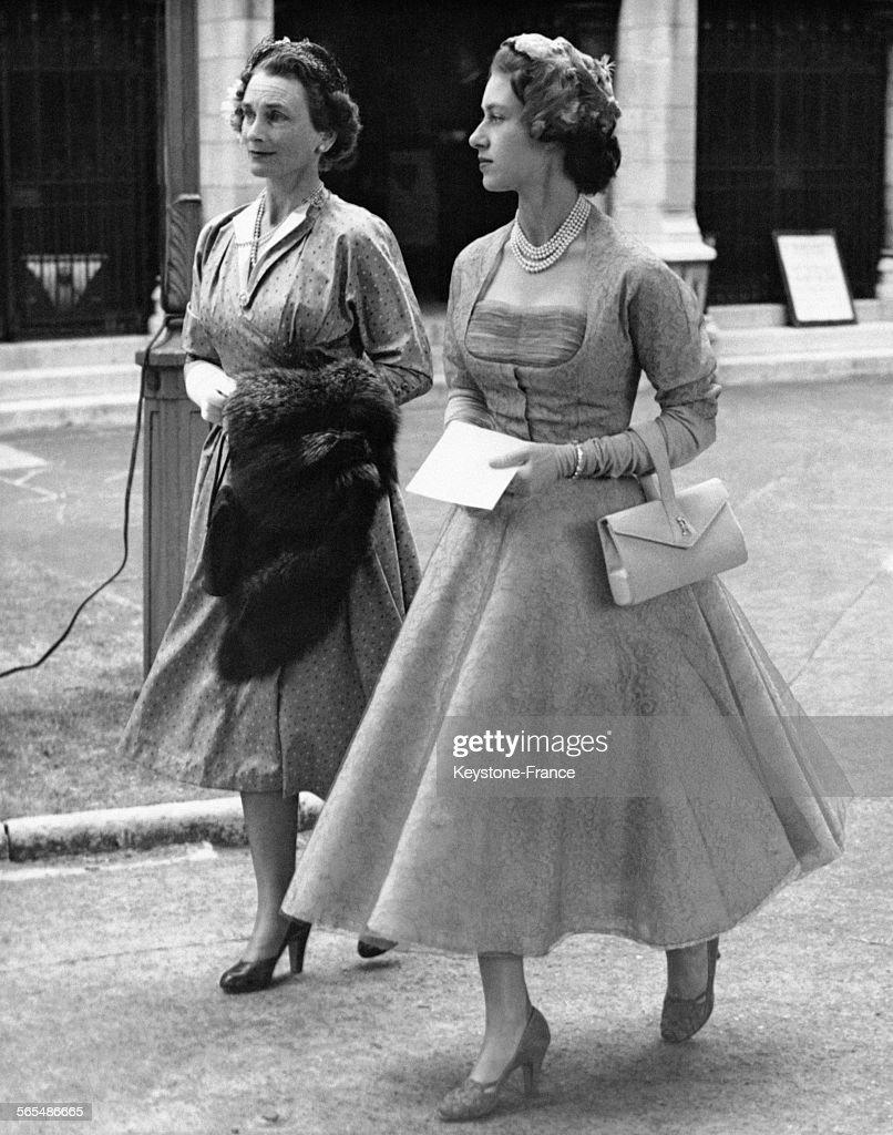 La Princesse Margaret et la Duchesse de Gloucester : News Photo