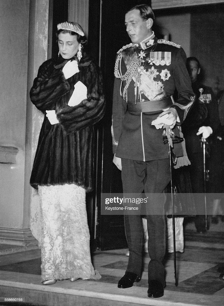 Le Duc Et La Duchesse De Kent Quittent Belgrave Square : News Photo