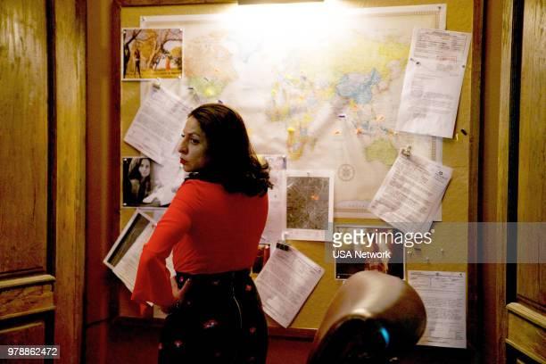 """La Ermitana"""" Episode 301 -- Pictured: Veronica Falcon as Camila --"""
