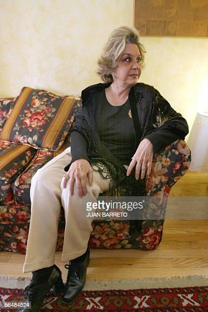 La escritora mexicana Isabel Custodio autora del libro recientemente publicado en Mexico El amor me absolvera en el cual hace referencia al lider...