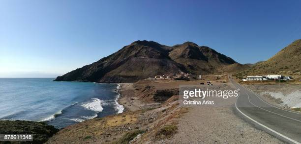 La fabriquilla beach at Cabo de Gata in Almeria on May 2017 Andalucía Spain