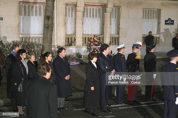 La famille de François Mitterrand.