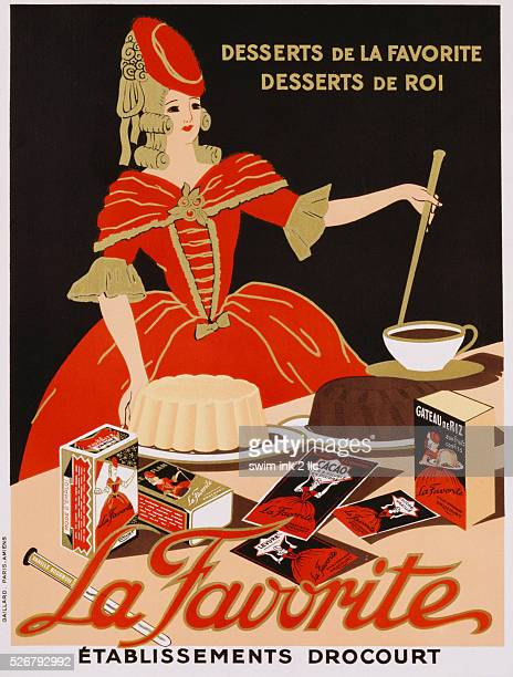 La Favorite Dessert Advertisement Poster