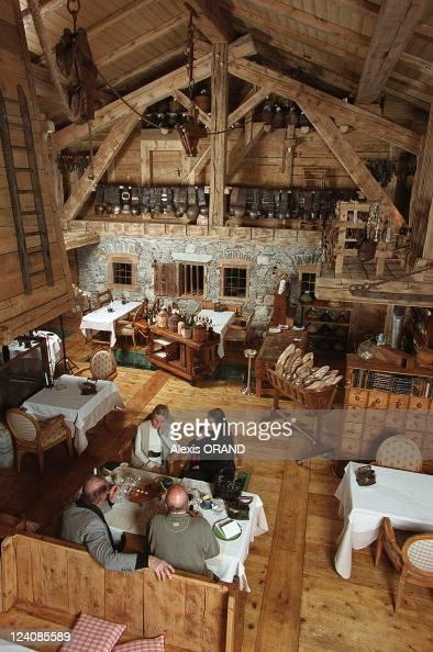 39 la ferme de mon pere 39 the new marc veyrat restaurant in. Black Bedroom Furniture Sets. Home Design Ideas