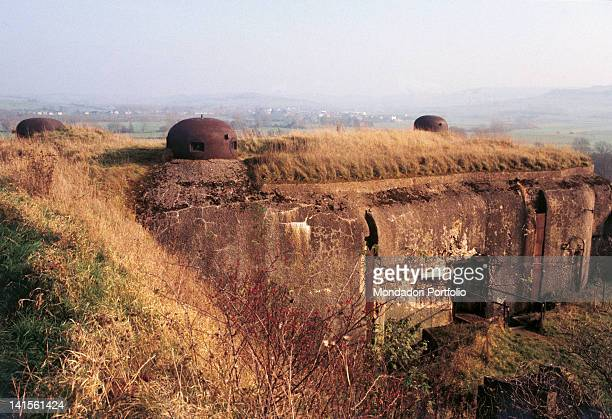 La FertT fortress on the Maginot Line France October 1968