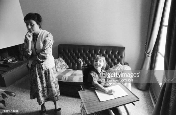 La fille de la famille Henrique Perez victime du talc Morhange le 22 octobre 1979 à CharlevilleMézières France