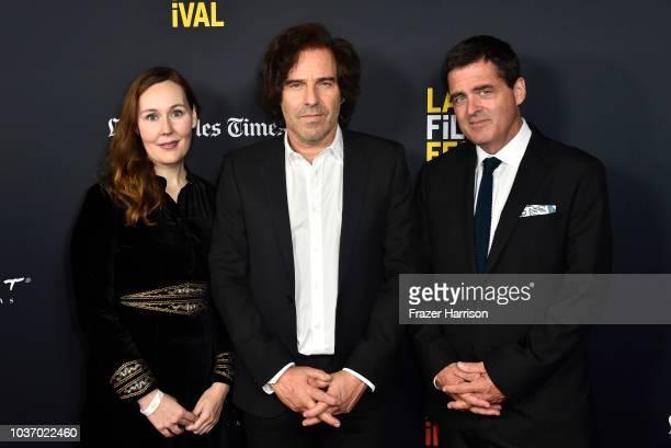La Film Festival Director Jennifer Cochis Director Andrew Slater Film Independent President Josh Welsh La Film Festival Director Jennifer Cochis...