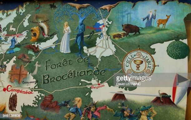 La fort de Brocliande ou fort de PAIMPONT est le plus grand vestige de l'antique fort bretonne Elle prserve la mmoire d'anciennes croyances...