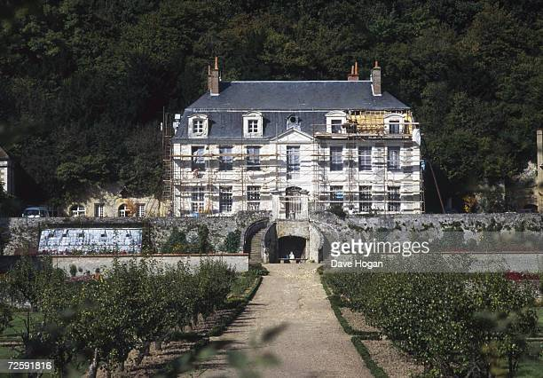 La Fourchette the 17th century castle in the Loire Valley France owned by Rolling Stones singer Mick Jagger October 1983