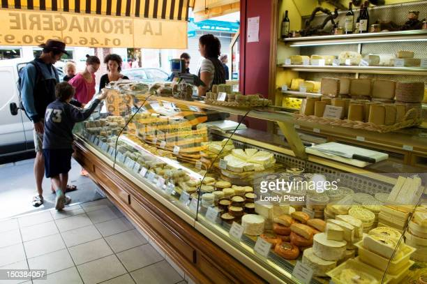 La Fromagerie Lepic Cheese shop in Montmarte.