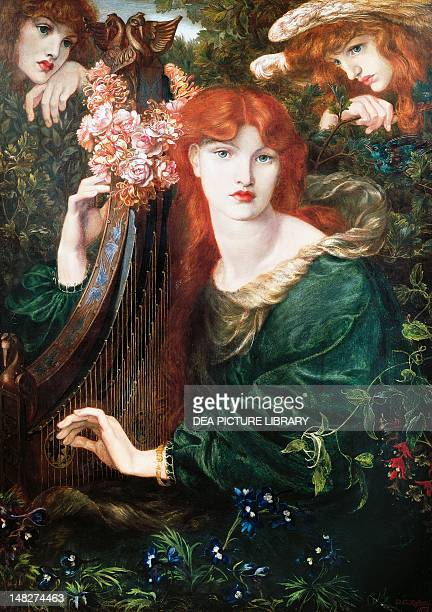 La Ghirlandata, by Dante Gabriel Rossetti . ; London, Guildhall Art Gallery Corporation Of London.