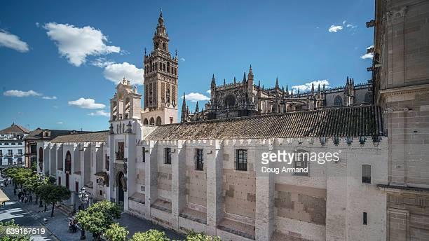 La Giralda and Seville Cathedral, Seville, Spain