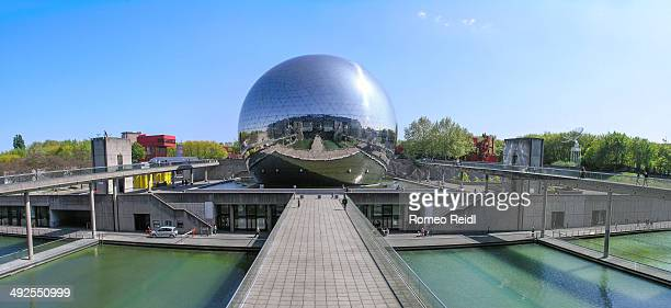 CONTENT] La Géode is a mirrorfinished geodesic dome that holds an Omnimax theatre in Parc de la Villette at the City of Science and Industry in Paris...