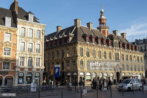 La Grand Place of the northern French city of Lille on October 30 2014 Lille is the fourthlargest metropolitan area in France after those of Paris...