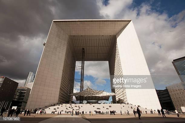 La Grande Arche de la Defense, Paris, France