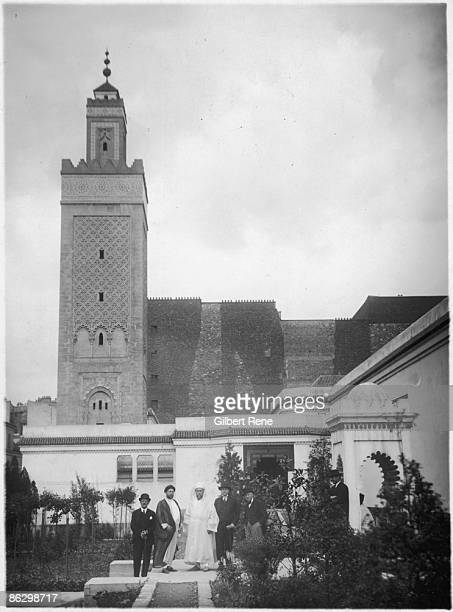 La Grande Mosquee de Paris the first mosque in Paris circa 1926 It was built after World War I to show gratitude to Muslims from the French colonies...