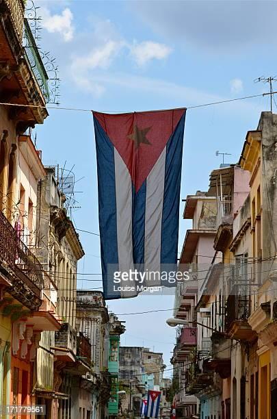 la habana - bandera cubana fotografías e imágenes de stock