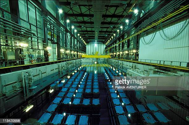 La Hague: Nuclear Reprocessing On September 7th, 1988 - New Cooling Pond For Storing Nuclear Fuel