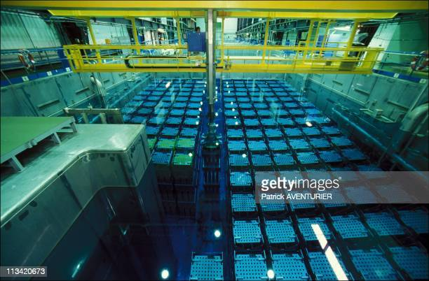 La Hague: Nuclear Reprocessing On September 7th, 1988 - Uranium Is Stored In The Cooling Pond
