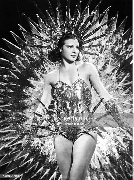 La Jana Actress Dancer Germany * Schauspielerin Taenzerin D Oesterreich als Stern im Film 'Es leuchten die Sterne' Regie Hans Zerlett D 1938 1938...