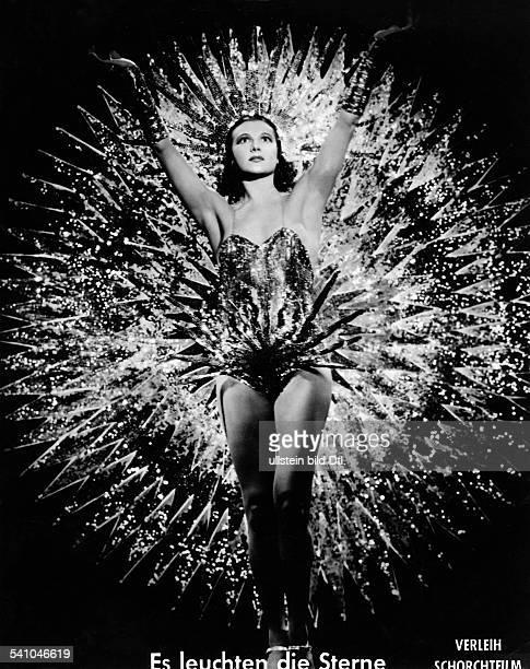 La Jana Actress Dancer Germany* as star in the film 'Es Leuchten die Sterne'Director Hans Zerlett 1938 Published by 'Berliner Morgenpost' Vintage...