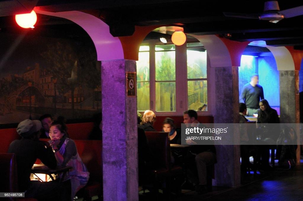 La Java Night Club, Belleville And Menilmontant District, Paris ...