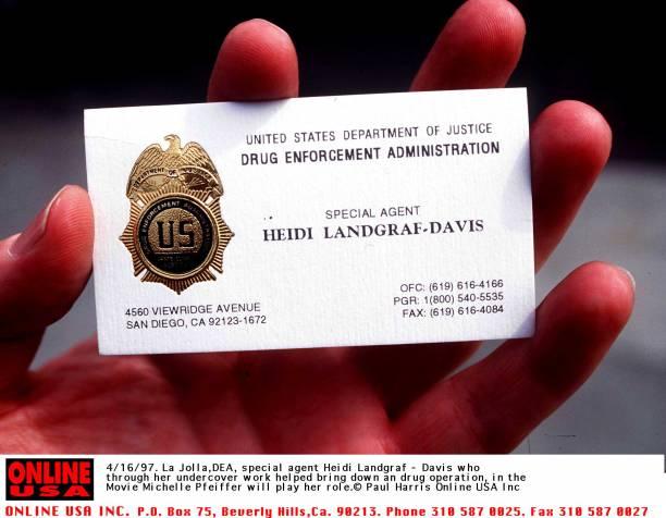 La jolla california the card that dea agent heidi landgraf davis la jolla california the card that dea agent heidi landgraf davis carries who went unde reheart Images