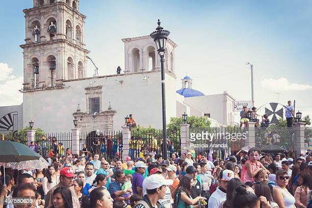 CONTENT] La Judea a mexican tradition during the Holy week In the city of Purísima de Bustos Gto México People observing the tradition of La Judea in...