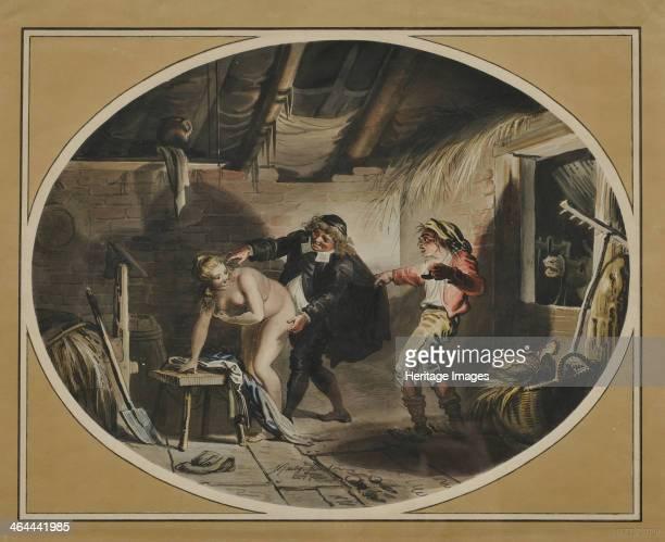 La Jument du compère Pierre 1800 From a private collection