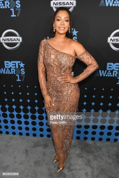 La La Anthony at the 2017 BET Awards at Staples Center on June 25 2017 in Los Angeles California