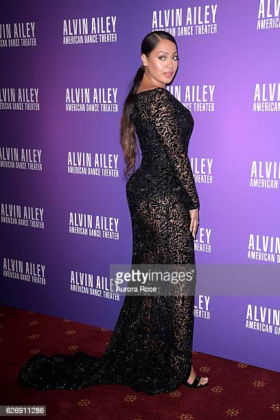 La La Anthony attends Alvin Ailey American Dance Theater Opening Night Gala Benefit 'An Evening of Ailey and Jazz' at New York City Center on...