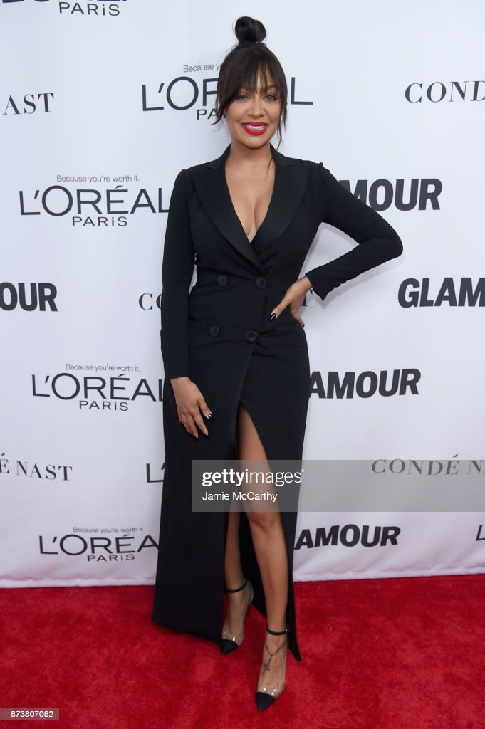 La La Anthony attends Glamour's 2017 Women of The Year Awards at Kings Theatre on November 13, 2017 in Brooklyn, New York.