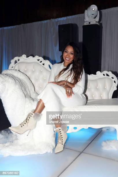 Lala Anthony attends La La Anthony Hosts 'Winter Wonderland' Holiday Charity Event on December 21 2017 in New York City