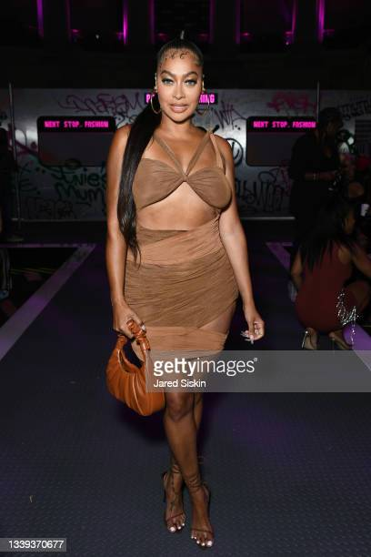 La La Anthony attends PrettyLittleThing: Teyana Taylor Collection II New York Fashion Week on September 09, 2021 in New York City.