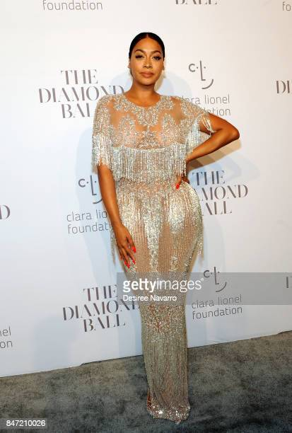 La La Anthony attends Rihanna's 3rd Annual Diamond Ball at Cipriani Wall Street on September 14 2017 in New York City