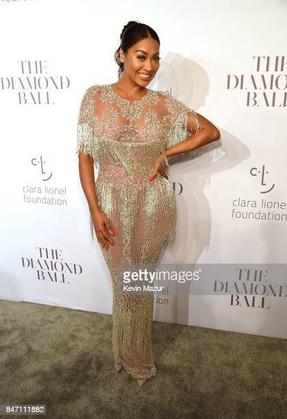 La La Anthony attends Rihanna's 3rd Annual Diamond Ball Benefitting The Clara Lionel Foundation at Cipriani Wall Street on September 14 2017 in New...