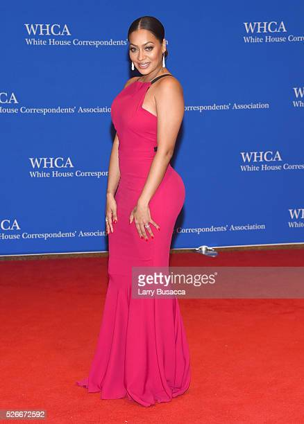 La La Anthony attends the 102nd White House Correspondents' Association Dinner on April 30 2016 in Washington DC