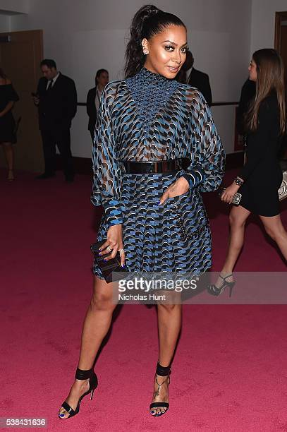 La La Anthony attends the 2016 CFDA Fashion Awards at the Hammerstein Ballroom on June 6, 2016 in New York City.