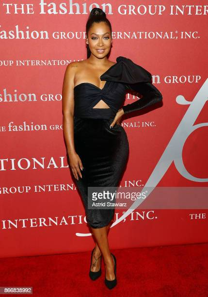 La La Anthony attends the 2017 FGI Night Of Stars Modern Voices gala at Cipriani Wall Street on October 26 2017 in New York City