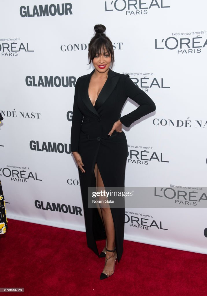 La La Anthony attends the 2017 Glamour Women of The Year Awards at Kings Theatre on November 13, 2017 in New York City.