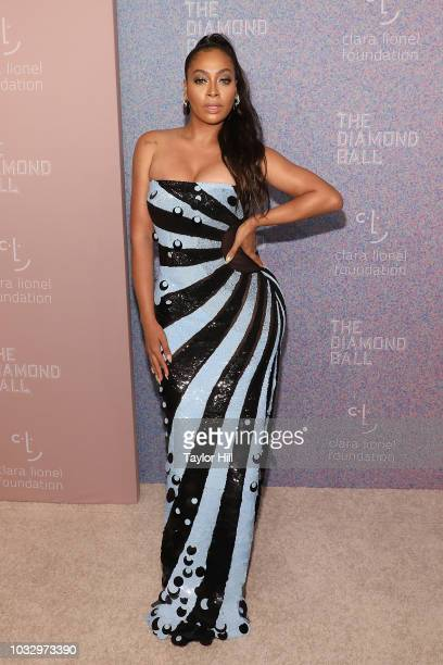 La La Anthony attends the 2018 Diamond Ball at Cipriani Wall Street on September 13, 2018 in New York City.