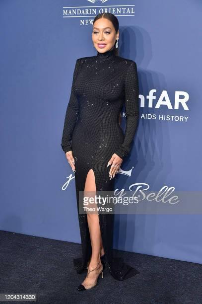 La La Anthony attends the 2020 amfAR New York Gala on February 05, 2020 in New York City.