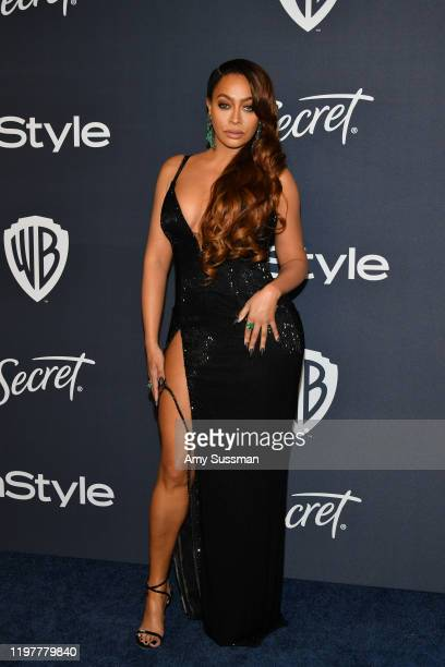 La La Anthony attends the 21st Annual Warner Bros. And InStyle Golden Globe After Party at The Beverly Hilton Hotel on January 05, 2020 in Beverly...
